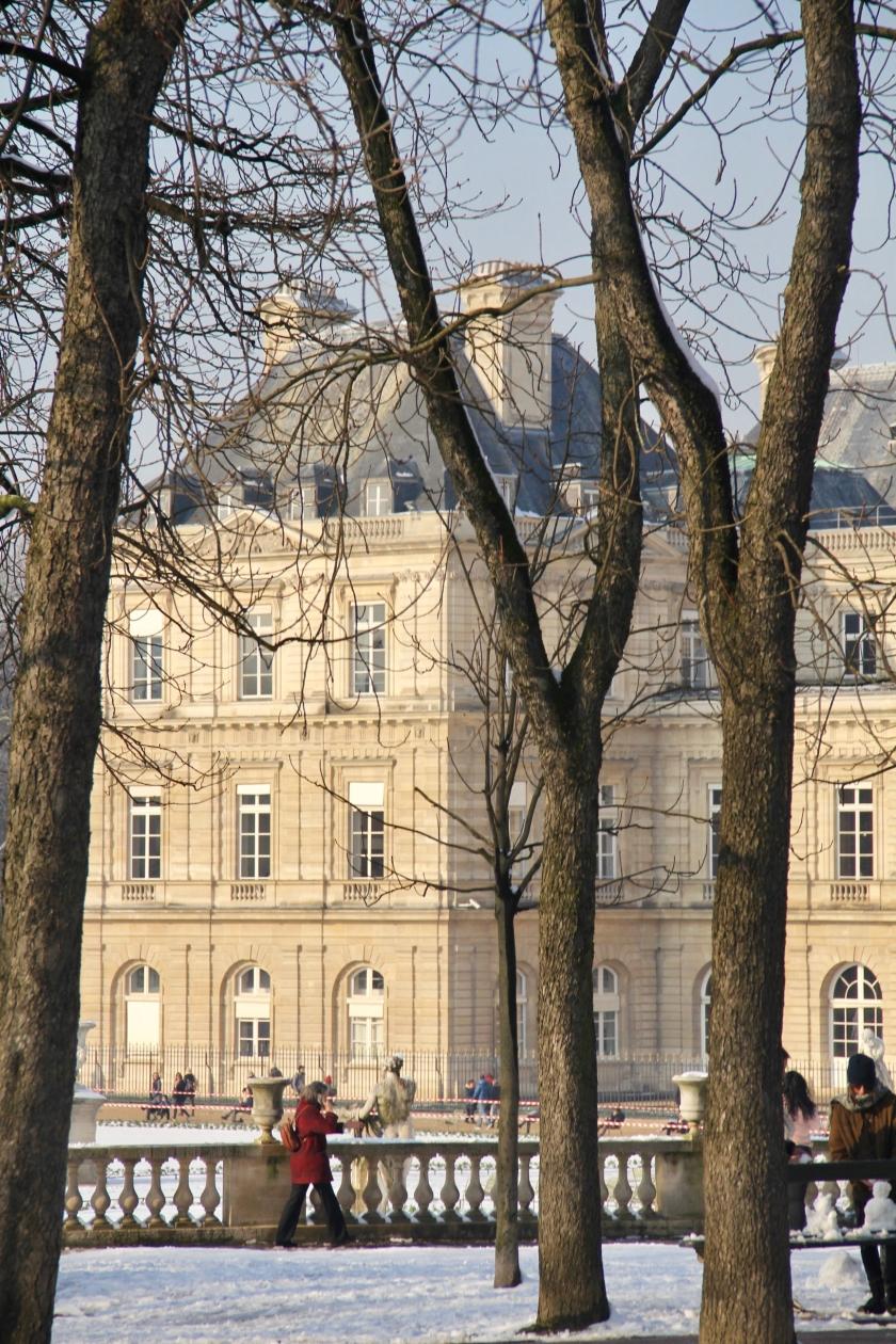 Snowy Paris - 1