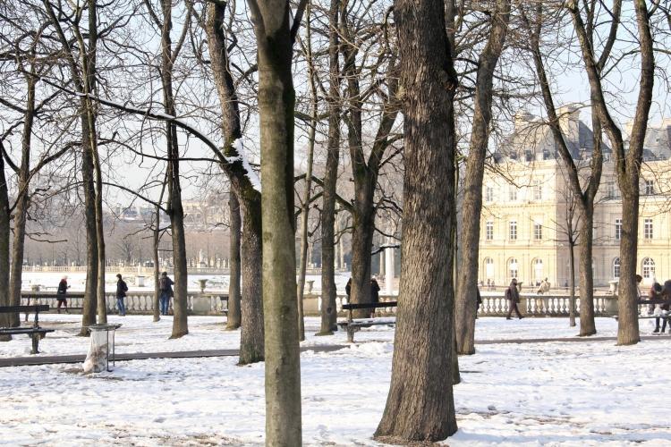 Snowy Paris - 2