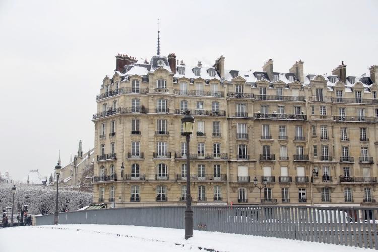 Snowy Paris - 23