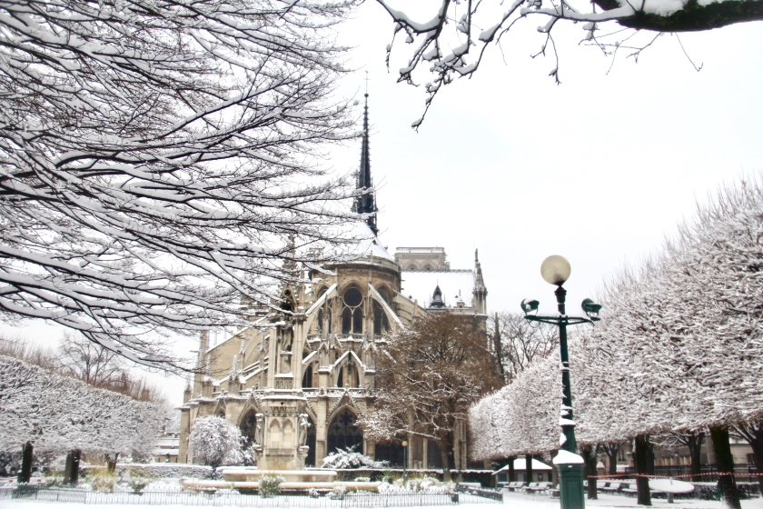 Snowy Paris - 27
