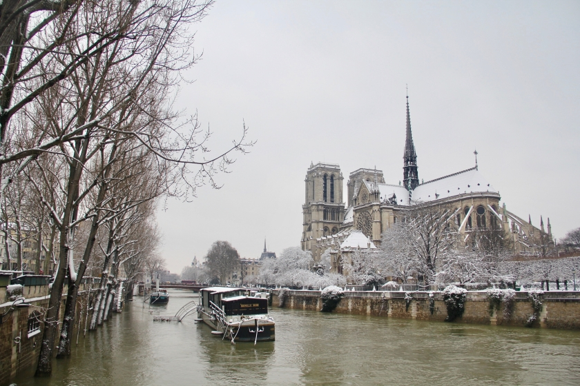 Snowy Paris - 33