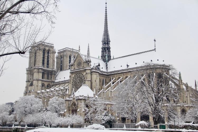 Snowy Paris - 36