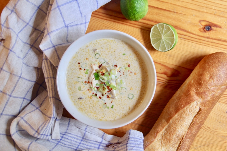 coconut chicken soup - 1